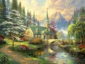 Dogwood Chapel Thomas Kinkade church